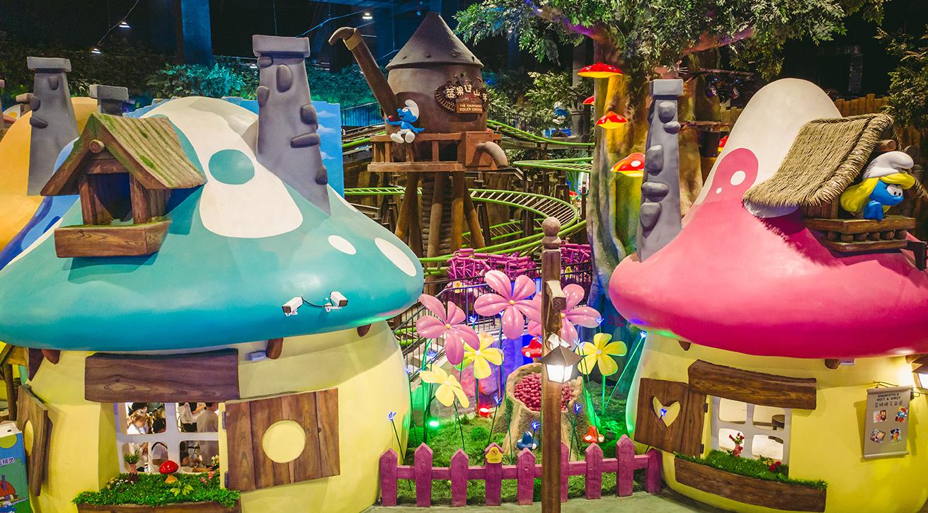 Smurfs Theme Park Shanghai